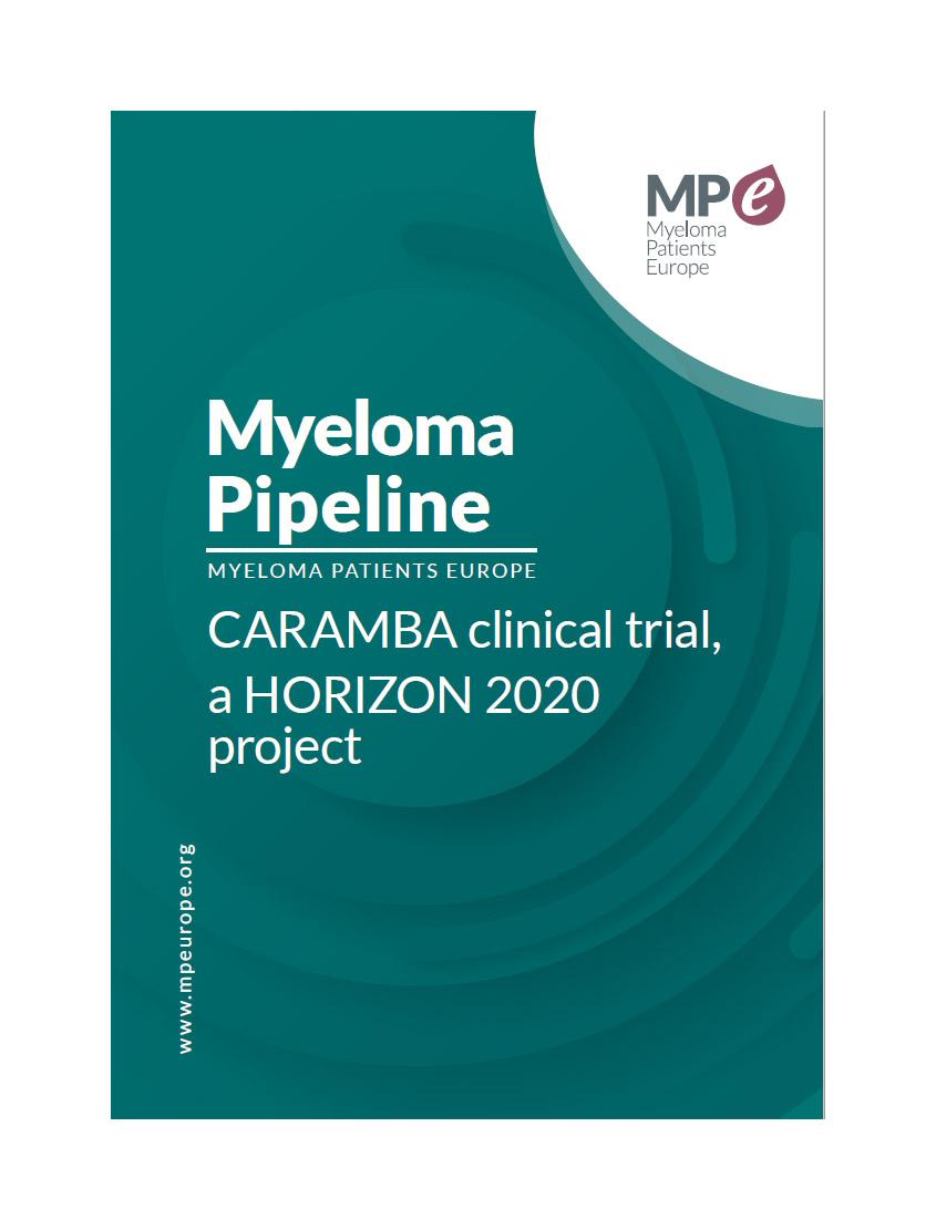 Myeloma pipeline: CARAMBA